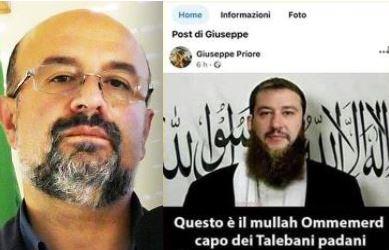 Salvini-talebano, Priore nel mirino