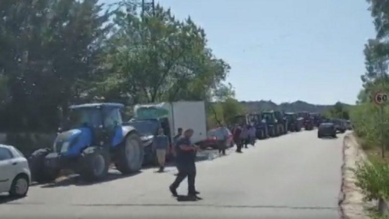 Crisi idrica, protestano gli agricoltori di Cutro e Isola Capo Rizzuto