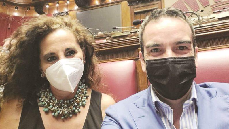 Il selfie galeotto fra Wanda Ferro e Roberto Occhiuto. Pace fatta?