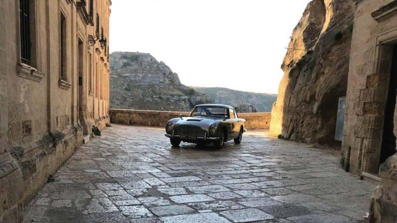 Oggi la prima di 007 a Matera