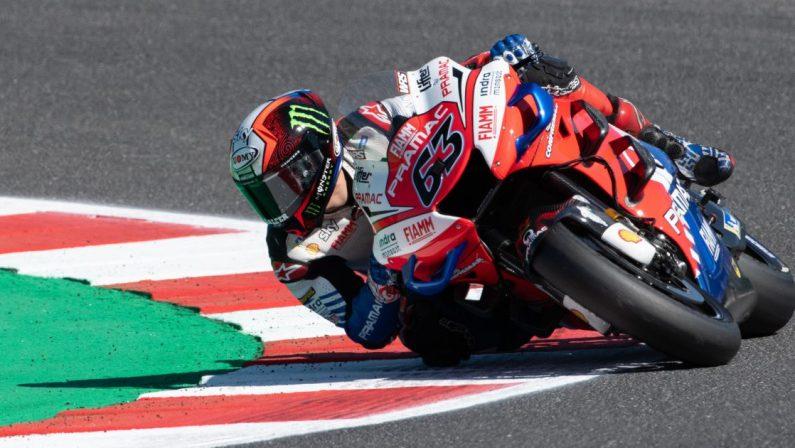 Motomondiale 2021, Bagnaia conquista la pole position al Gp di Aragon