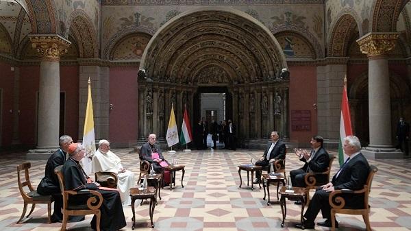 Papa Francesco Incontra Viktor Orban