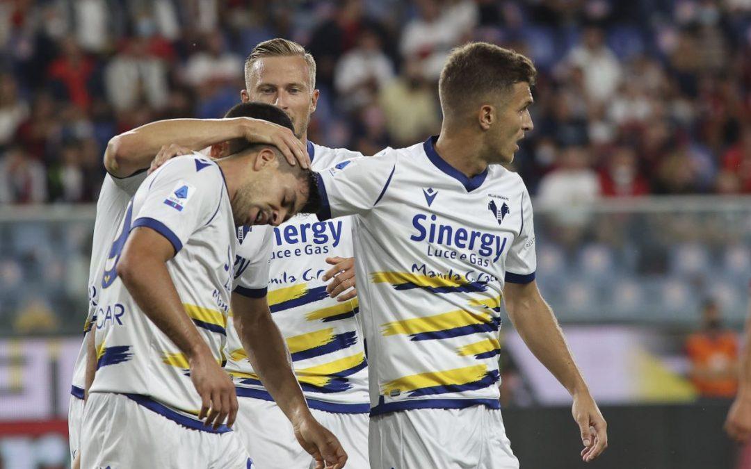 Gol e spettacolo, tra Genoa e Verona finisce 3-3