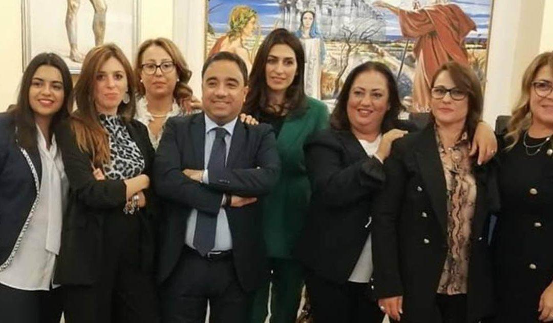 Le donne dell'amministrazione del sindaco Ferrari
