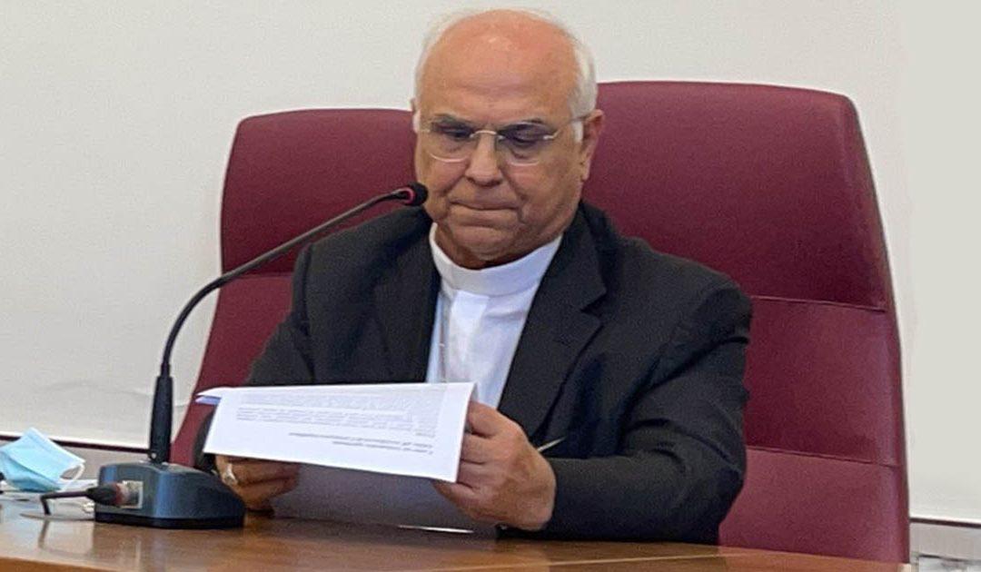 L'annuncio dell'arcivescovo Vincenzo Bertolone
