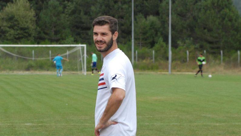 Bruno Tamburro in gol al debutto dopo cinque anni di lontananza dai campi