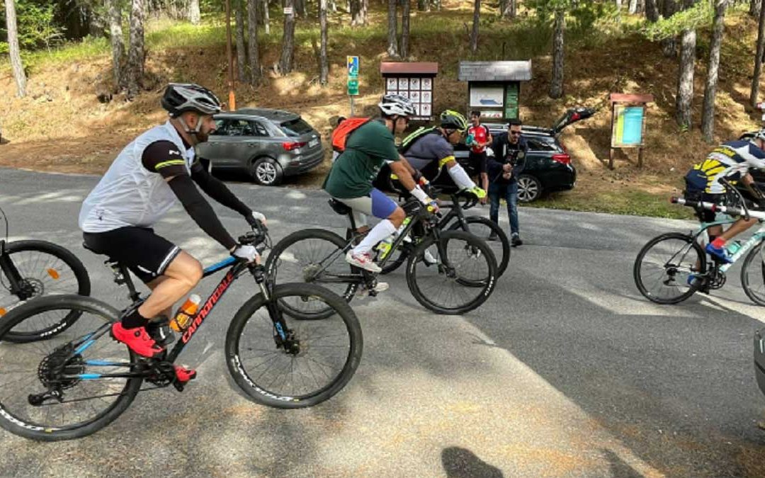 La Carovana dei Parchi in bicicletta passa dalla Sila