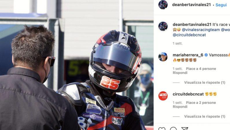Tragedia nel motociclismo: incidente a Jerez, morto a soli 15 anni Dean Berta Vinales