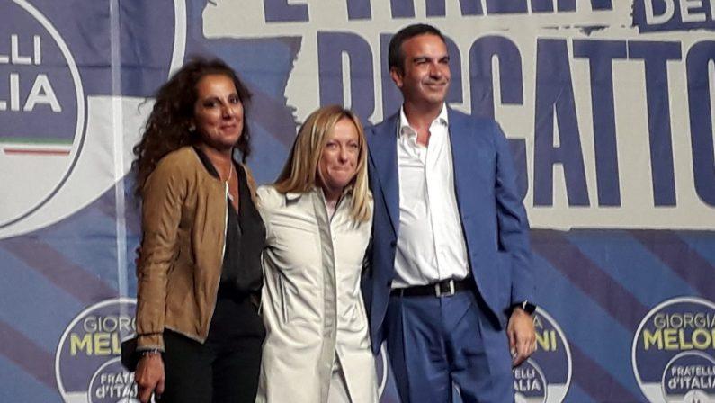 Elezioni regionali, Giorgia Meloni promuove Occhiuto: «La Calabria combatterà ad armi pari»