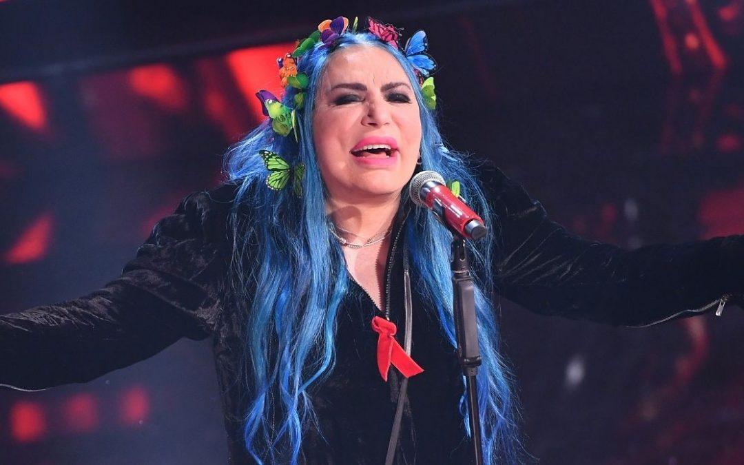 Loredana Bertè sul palco dell'Arena di Verona