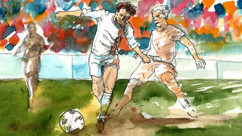 """Il """"Beckenbauer dell'Est""""che voleva scavalcare il muro"""