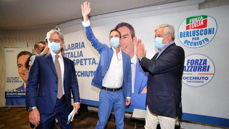 Calabria al voto 2021, i voti delle liste a sostegno di Roberto Occhiuto