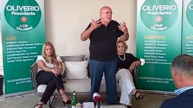 Elezioni regionali, Oliverio: «Parte un progetto di rilancio della sinistra»