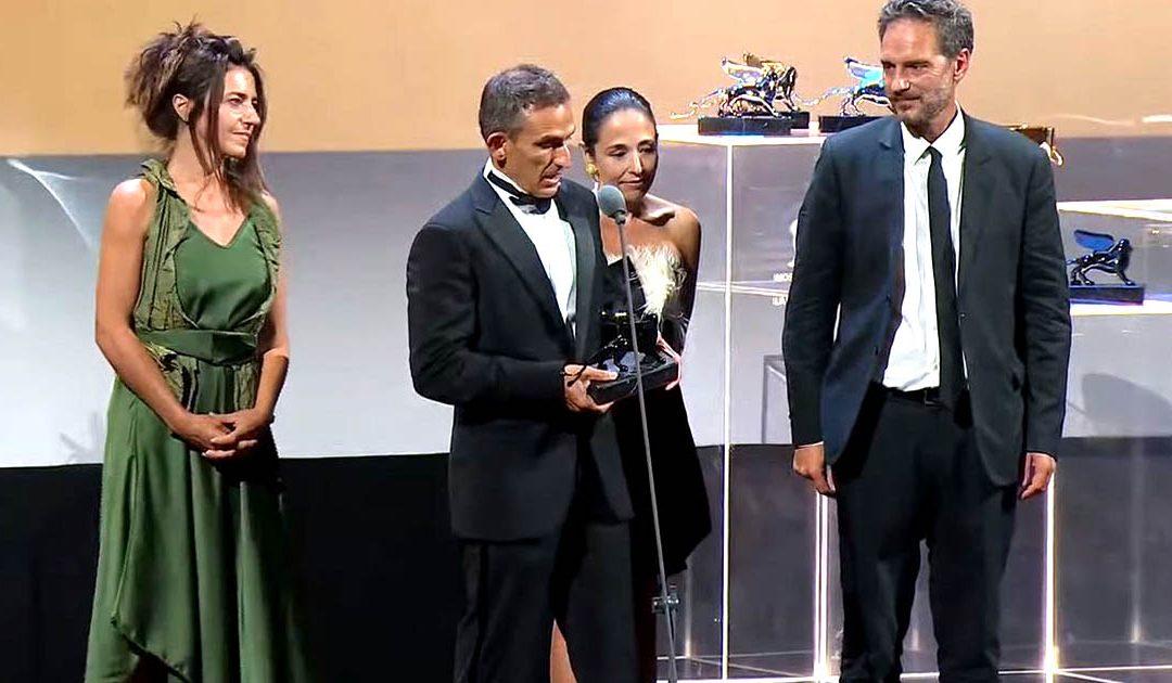 Michelangelo Frammartino riceve il premio