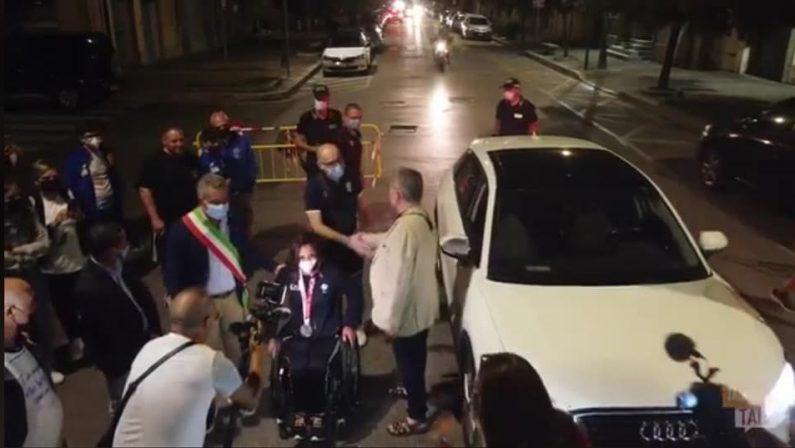 La Calabria abbraccia Enza Petrilli: la campionessa paraolimpica è tornata a casa - FOTO