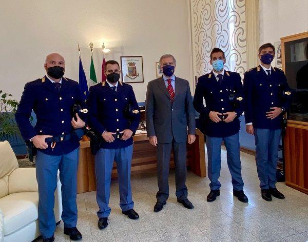 Polizia: potenziato personale a Catanzaro, giunti 16 nuovi agenti