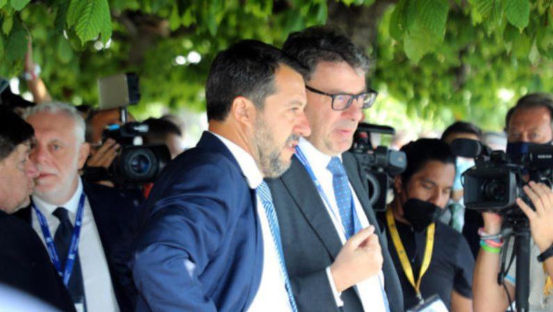 Giorgetti: «Green pass strumento di libertà. Salvini? Andiamo d'accordo»