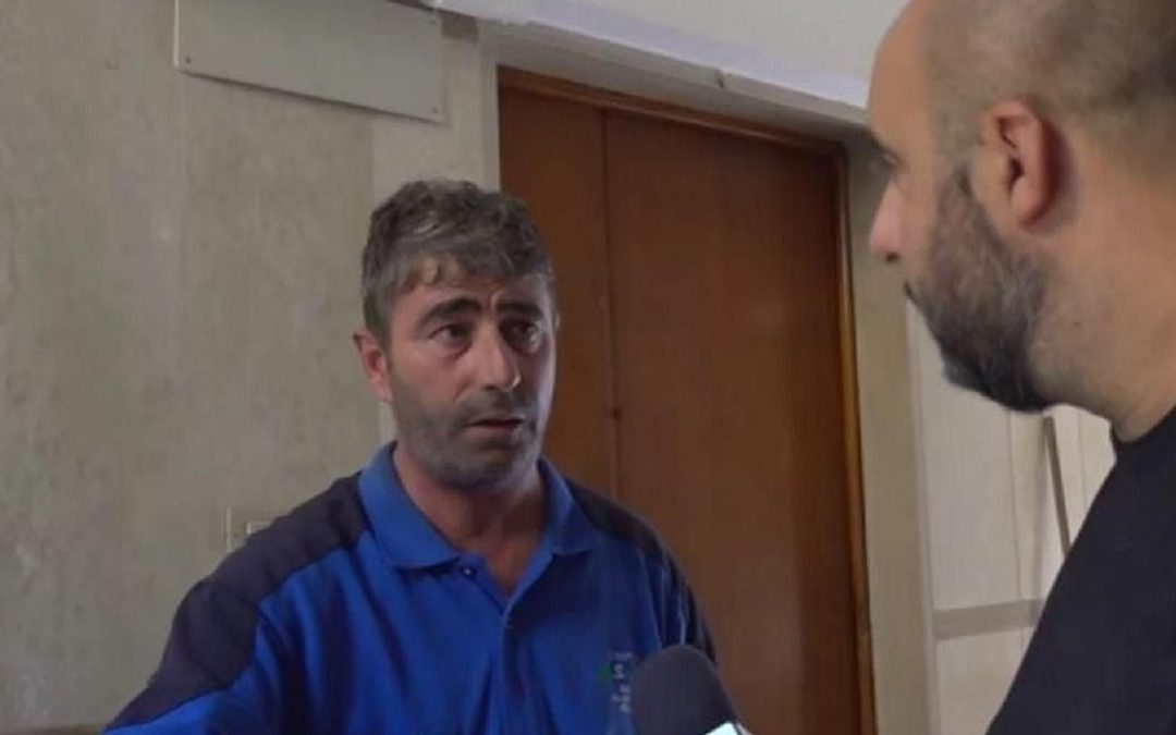 Saverio Mesecorto durante l'intervista a Il Quotidiano Italiano