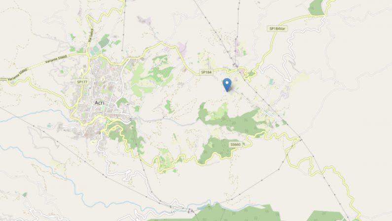 Cosenza, scossa di terremoto nella notte: l'epicentro ad Acri