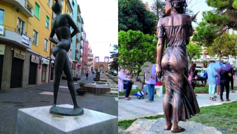 Lasciate stare il culo della Spigolatrice e venite a Cosenza a vedere le donne-arte del Mab
