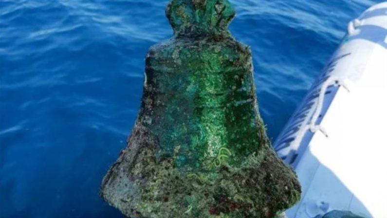 LA SCOPERTA Il mistero del relitto della campana e dei nove cannoni