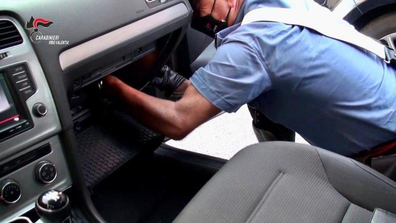 In auto con 150 grammi di cocaina, arrestato pensionato di Nicotera