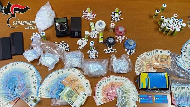 Droga, trovato con 7 etti di cocaina in casa: arrestato un 42enne nel Leccese