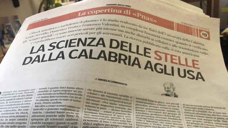 La scienza delle stelle e l'eccellenza dell'Università della Calabria