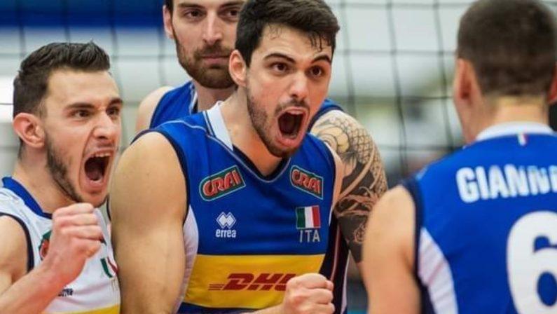Volley, Daniele Lavia torna a casa: la festa nel Cosentino per il campione d'Europa