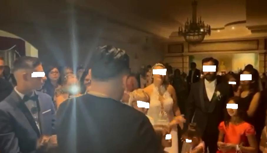 Daniele De Martino al matrimonio celebrato a Palmi