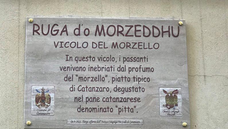 """A Catanzaro una targa per la """"Ruga d'o Morzeddhu"""": il piatto tipico conquista i palati"""