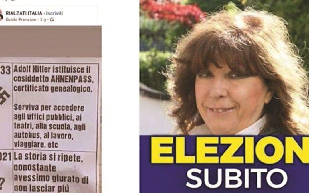 Il post di Franca Mattiello che ha scatenato la bufera
