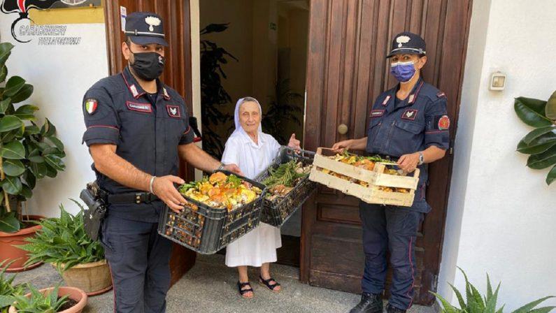 Funghi raccolti senza le necessarie autorizzazioni, i carabinieri li donano in beneficienza