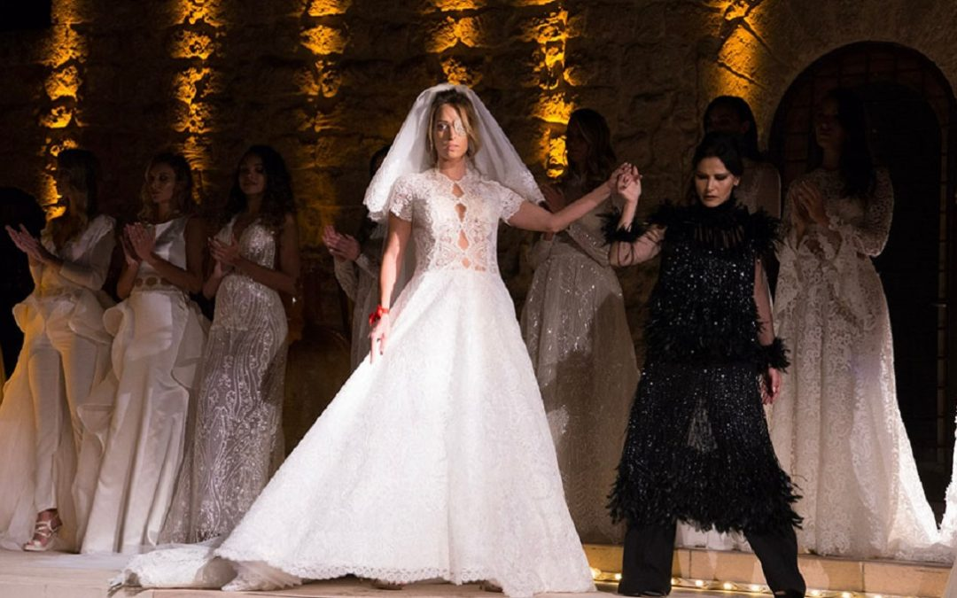 Gessica Notaro in abito da sposa