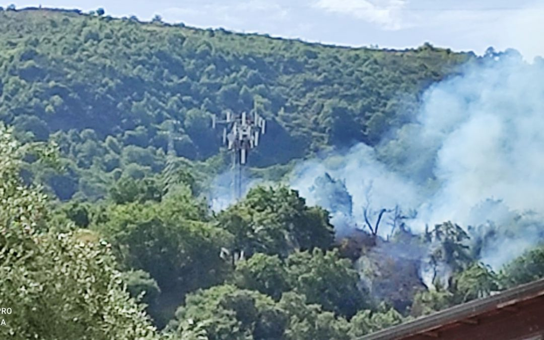 L'incendio di Vibo Marina