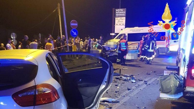 Ancora sangue sulla Statale 106, due morti e un ferito grave a Sellia Marina