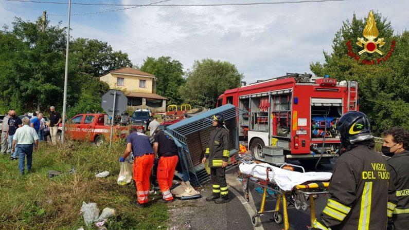 Incidente lungo la Statale 18 nel Vibonese, interviene l'elisoccorso