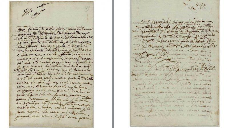 """La scoperta: """"Caro Galileo"""", a Firenze spunta la lettera spedita da Oriolo nel 1618"""