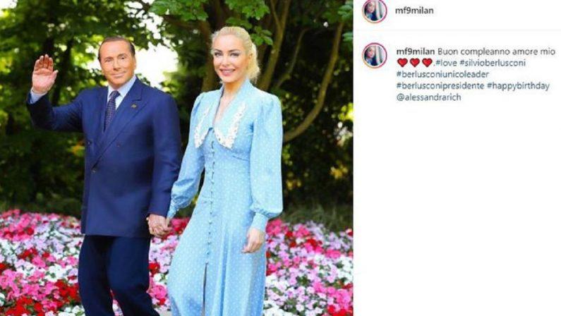 I messaggi per gli 85 anni di Berlusconi: dalla fidanzata al vecchio amico Vladimir