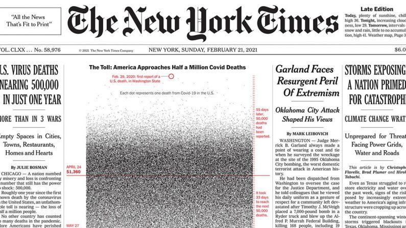 Alfabeto minimo per i 170 anni del New York Times