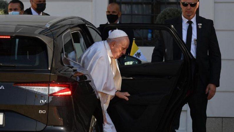 Papa Francesco in Slovacchia: «La Chiesa è libertà e accoglienza, dialoga con tutti»