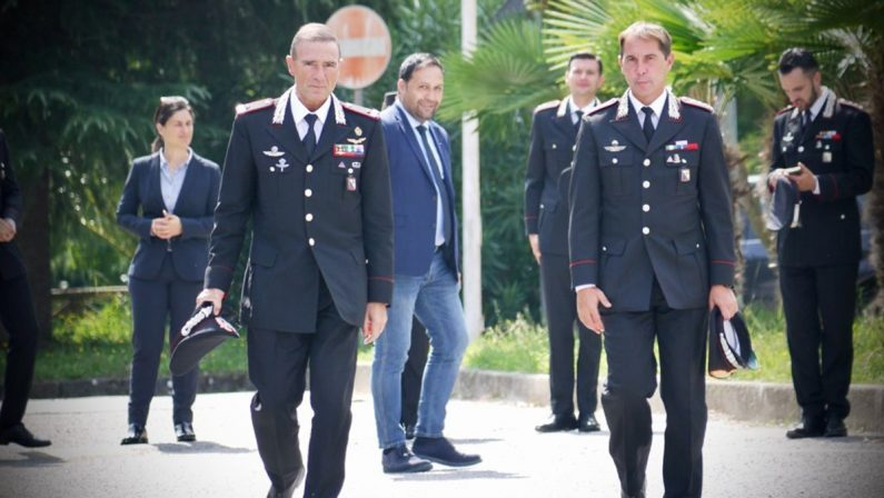 Il generale Paterna lascia la Calabria: «Qui sono diventato un uomo migliore»