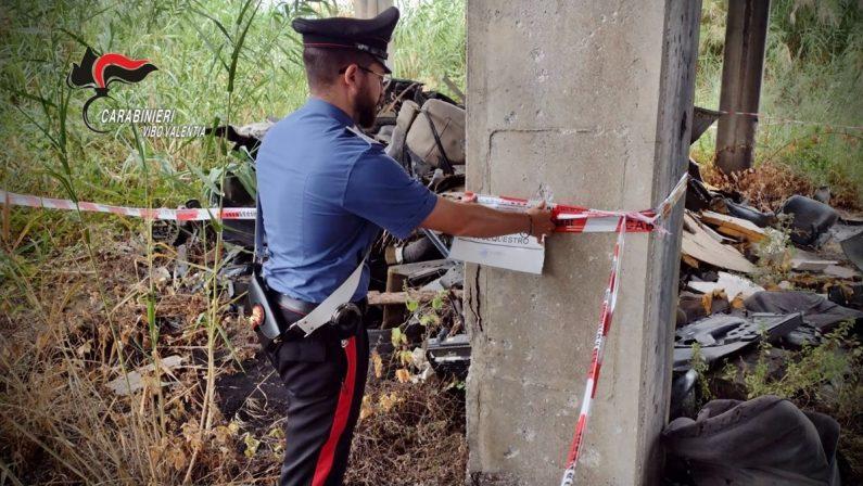 Bomba ecologica nell'area industriale di Vibo, sequestrato sito di 8400 metri quadrati