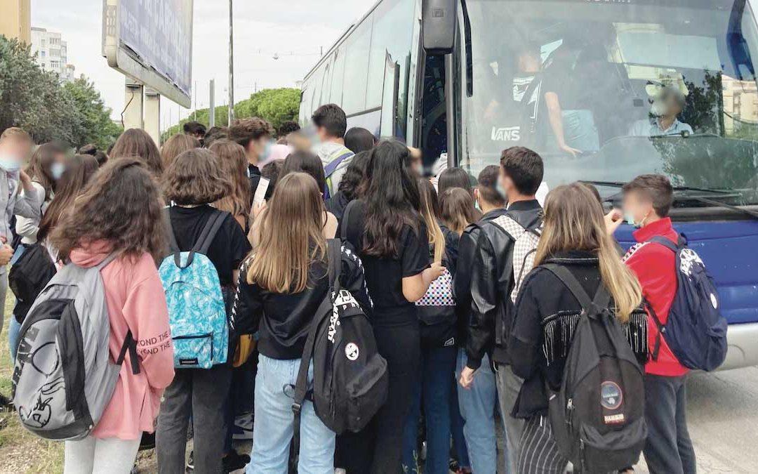 Il trasporto di studenti