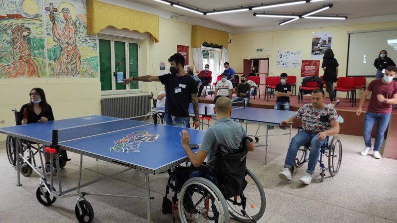 A Vibo il primo torneo inclusivo di tennistavolo promosso da Aism