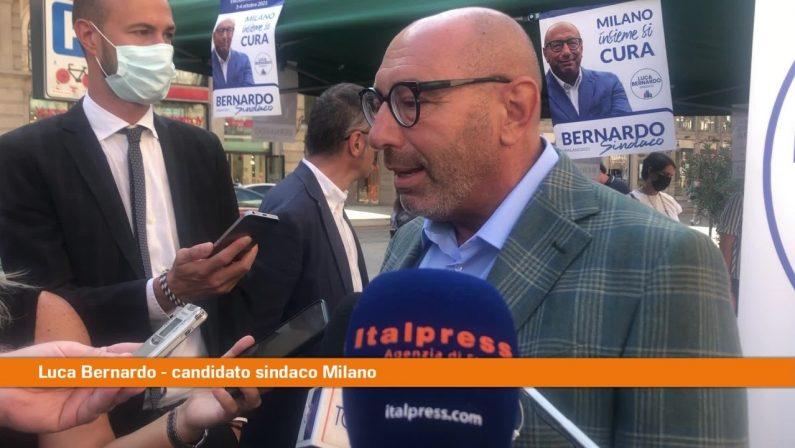 """Amministrative Milano, Bernardo """"Soddisfatti per Lista Civica"""""""