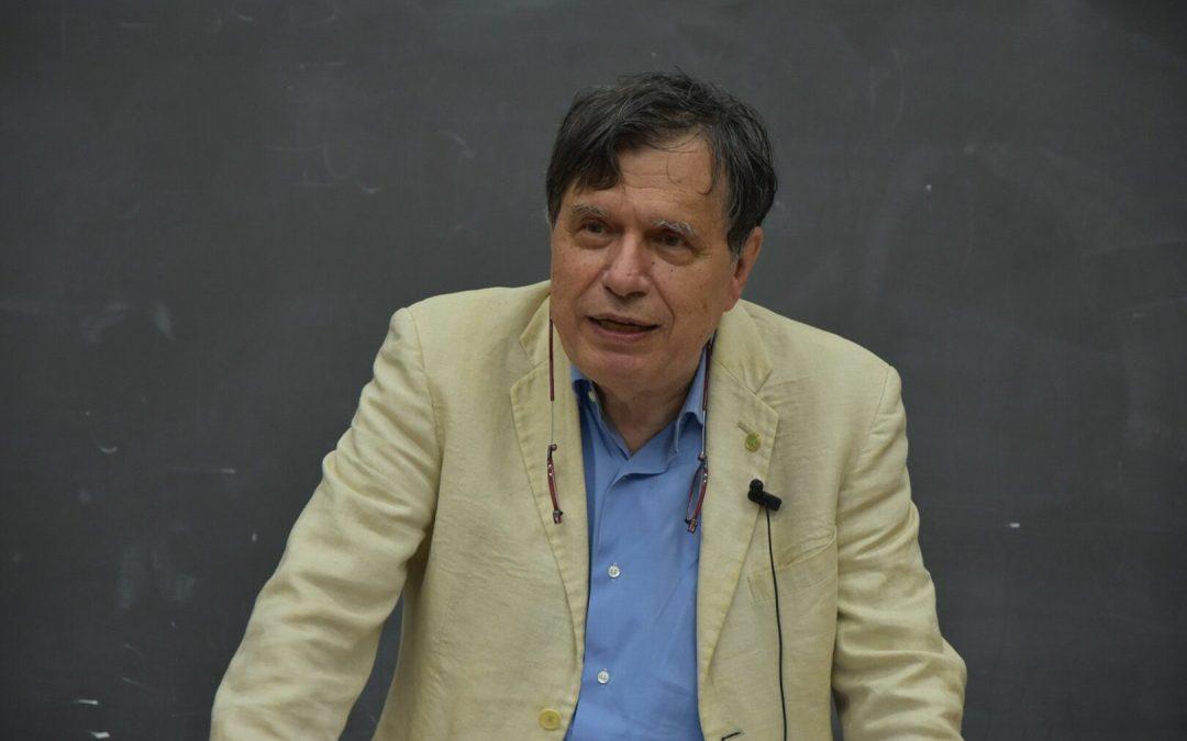 Il Nobel per la Fisica Giorgio Parisi