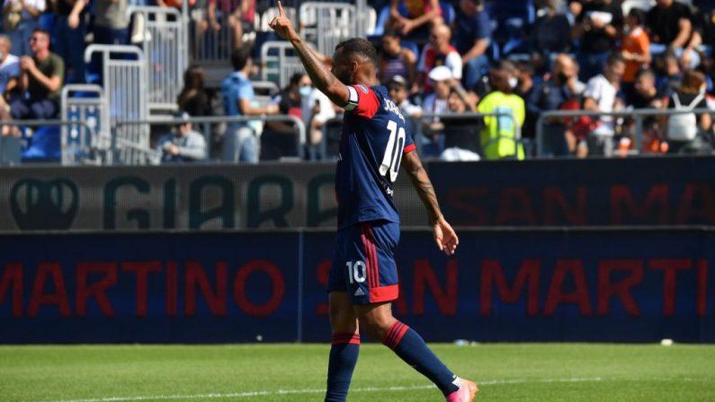 Primo successo del Cagliari, 3-1 alla Sampdoria
