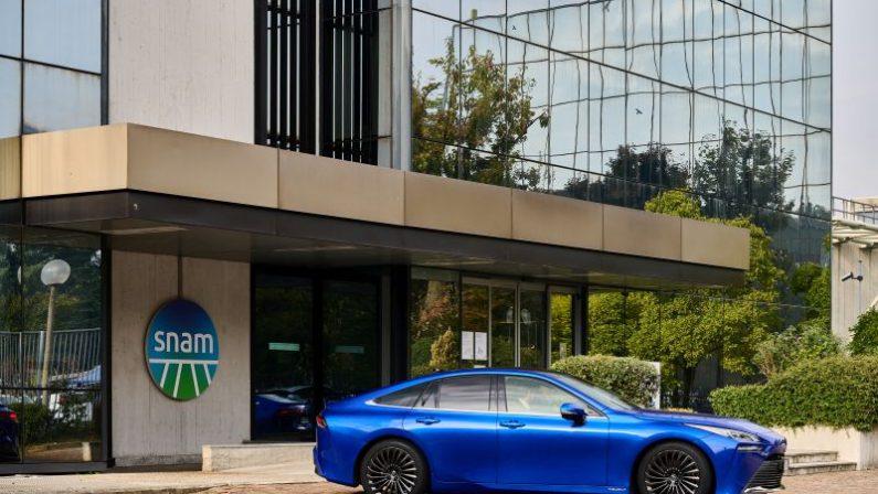 Snam con Toyota e Caetanobus per sviluppo mobilità a idrogeno