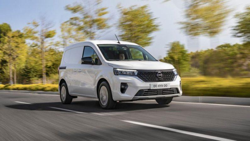 Nissan Townstar, il commerciale compatto anche 100% elettrico